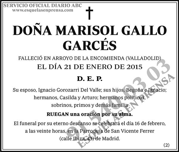 Marisol Gallo Garcés